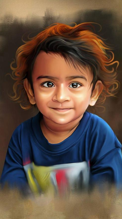 Kid's Digital Painting